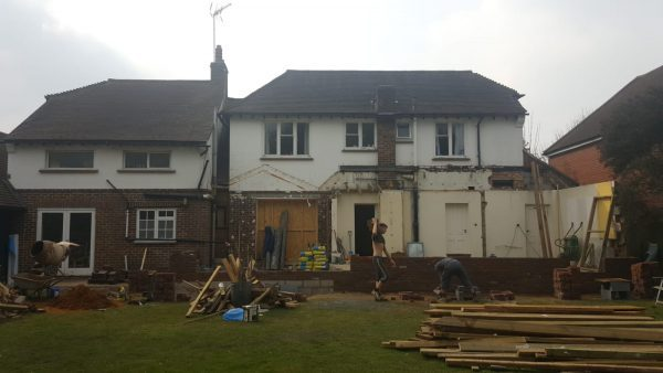 CT1 rebuilds a house!
