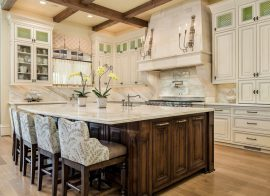 The best way to attach granite corbels to a granite countertop.