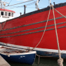 Wanderer ii a 1972 Ring Net Trawler restored and repaired with CT1