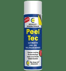 Peel Tec – LAK OG MALINGSFJERNER