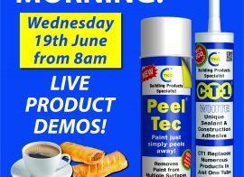 Peel Tec and CT1 Demo Morning at DHS Guernsey