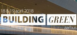 Come see us live at the Building Green aarhus 2018!