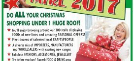 Christmas Shopping Fayre 2017 see us there!