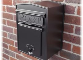How to fix a Metal Post Box to a Stone Wall or Pillar