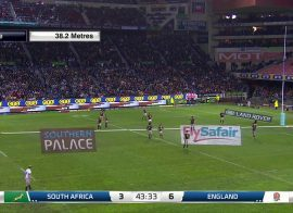 CT1 Pitchside – South Africa v England Rugby Match